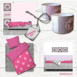 Actie | Stoere ster roze voordeelset