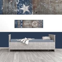Mini muursticker panelen