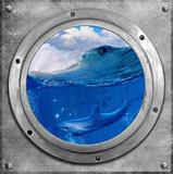 muursticker dolfijnenkamer