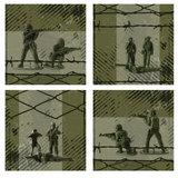 Muursticker leger_
