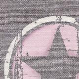 roze ster muursticker