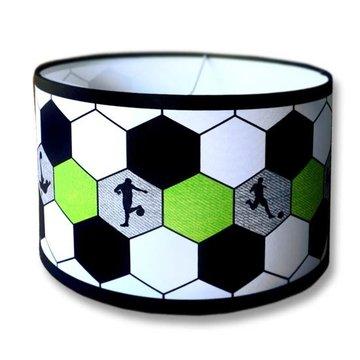 Kinderlamp voetbal groen