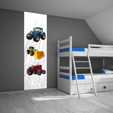 Muursticker paneel: Tractor