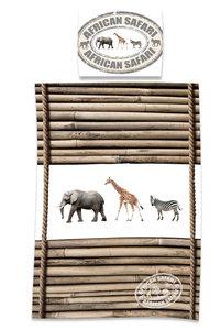 Jungle dieren dekbed overtrek