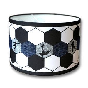 Voetbal lamp blauw