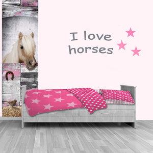 Paarden Sticker Muur.Muursticker Paard Paarden Sticker