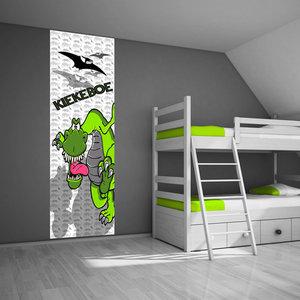 Muursticker idee voor de dinokamer - Dinosaurus