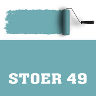 Muurverf turquoise 49 kinderkamer