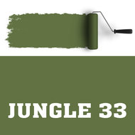 muurverf jungle 33
